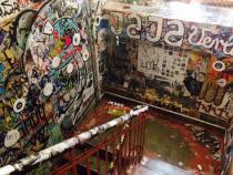 Berlin street art stairwell