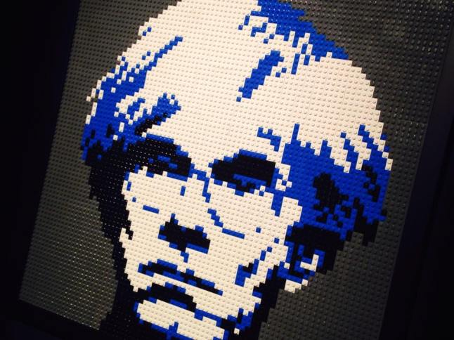 art of brick john lennon