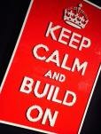 art of brick keep calm and carry on