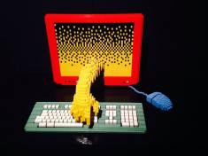 art of the brick computer