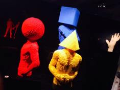art of the brick funny heads